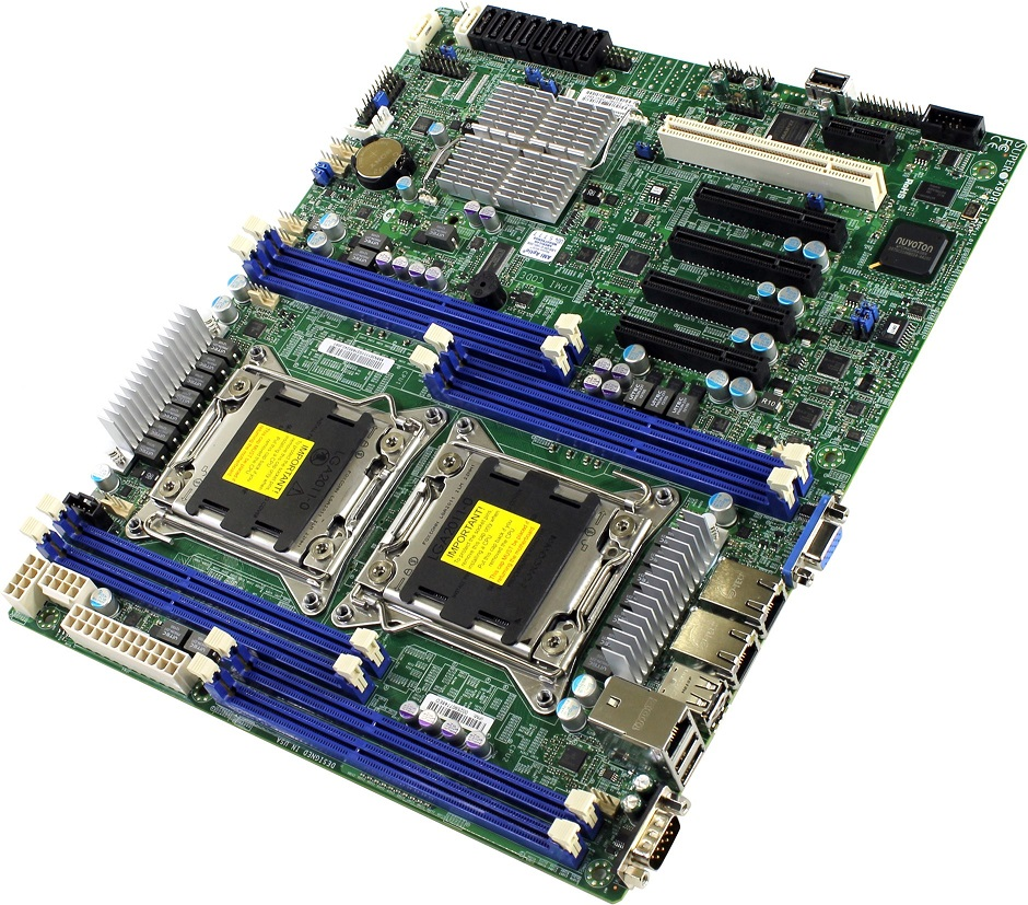 Материнская плата Supermicro X9DRL-iF ATX LGA 2011, MBD-X9DRL-IF-B