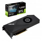 Картинка Видеокарта Asus nVidia GeForce RTX 2060 GDDR6 6GB, TURBO-RTX2060-6G
