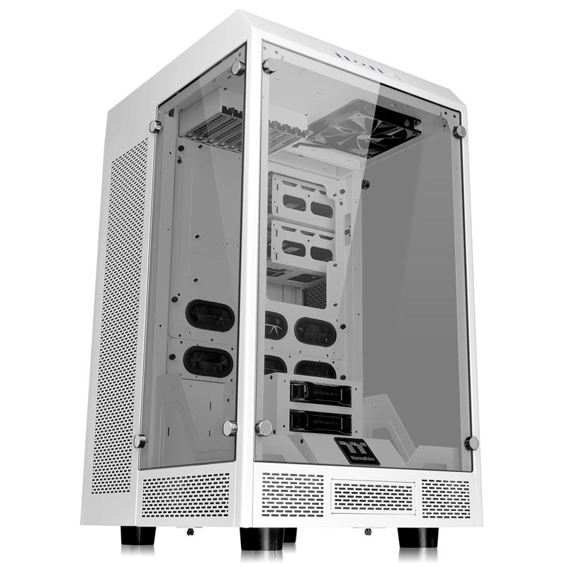 Корпус Thermaltake The Tower Snow Edition Tower Без БП Белый, CA-1H1-00F6WN-00