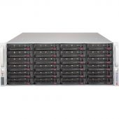 Картинка Корпус Supermicro SuperChassis 846BE1C-R1K23B Rack 1200Вт Чёрный 4U, CSE-846BE1C-R1K23B