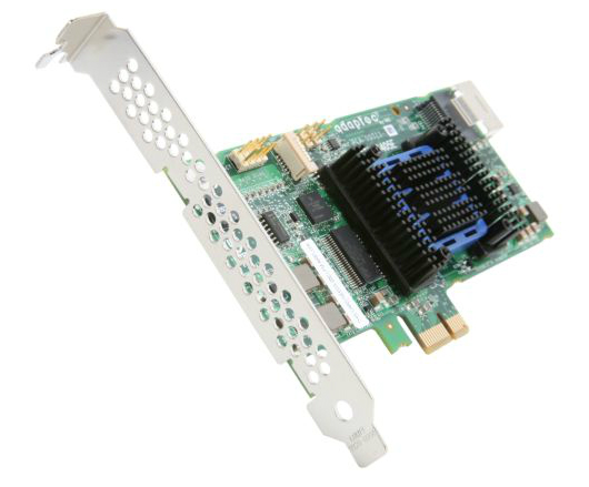 item-slider-more-photo-Фото RAID-контроллер Adaptec ASR-6405E SAS-2 6 Гб/с LP SGL, 2270800-R - фото 1