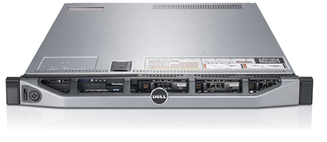 "Сервер Dell PowerEdge R620 2.5"" Rack 1U, 210-ABMW-81"