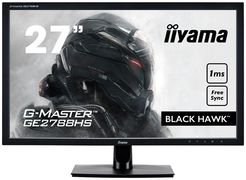 "item-slider-more-photo-Фото Монитор Iiyama GE2788HS 27"" LED TN Чёрный, GE2788HS-B2 - фото 1"