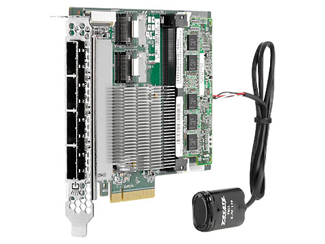 RAID-контроллер HP Enterprise Smart Array P822 SAS-2 6 Гб/с SGL, 615418-B21