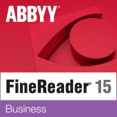 Картинка Подписка ABBYY FineReader 15 Business Рус. 1 ESD 12 мес., AF15-2S4W01-102