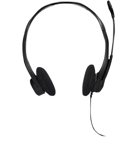 Гарнитура Logitech PC Headset 860 Чёрный, 981-000094