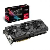 Картинка Видеокарта Asus AMD Radeon RX 590 ROG Strix GDDR5 8GB, ROG-STRIX-RX590-8G-GAMING