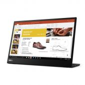 "Картинка Монитор Lenovo ThinkVision M14 14"" IPS Чёрный, 61DDUAT6EU"