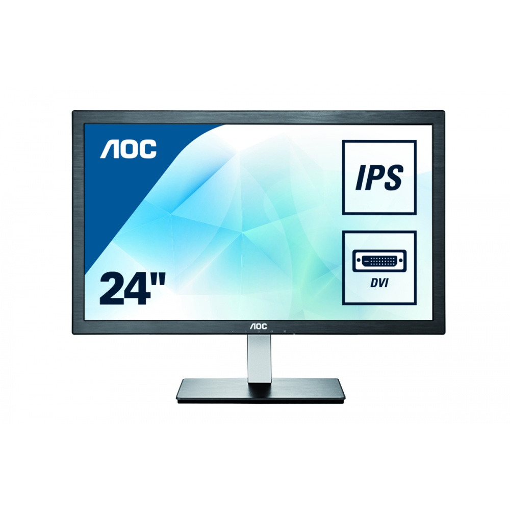 "Монитор AOC I2476VW 23.6"" LED IPS Чёрный, I2476VW"