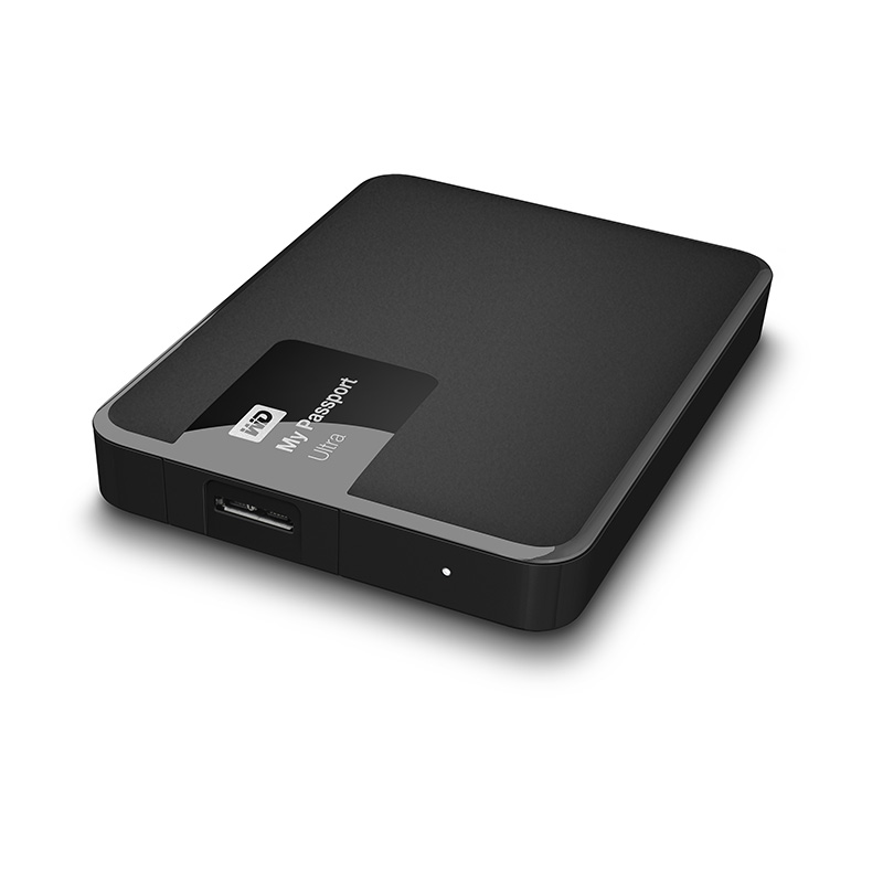 "Внешний диск HDD Western Digital My Passport Ultra 2TB 2.5"" USB 3.0 Чёрный, WDBNFV0020BBK-EEUE"