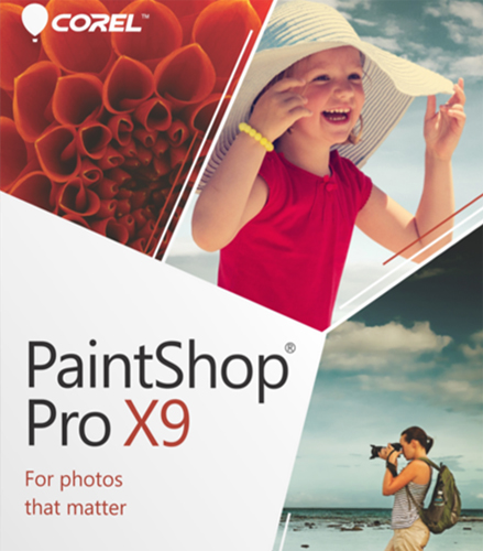 Право пользования Corel PaintShop Professional X9 Corporate Рус. 1 Lic Бессрочно, LCPSPX9ML0