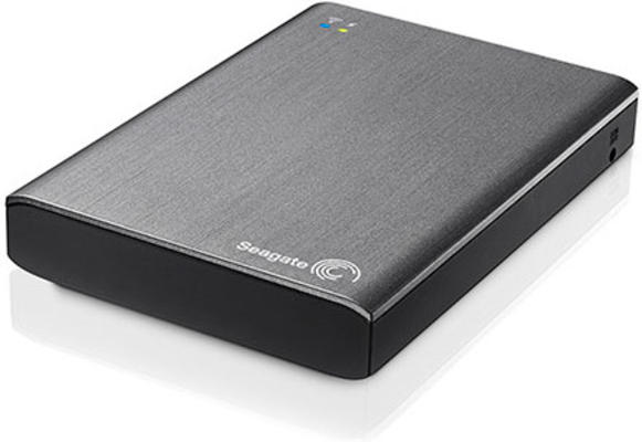 "Внешний диск HDD Seagate Wireless Plus 1TB 2.5"" USB 3.0 Серый WiFi, STCK1000200"