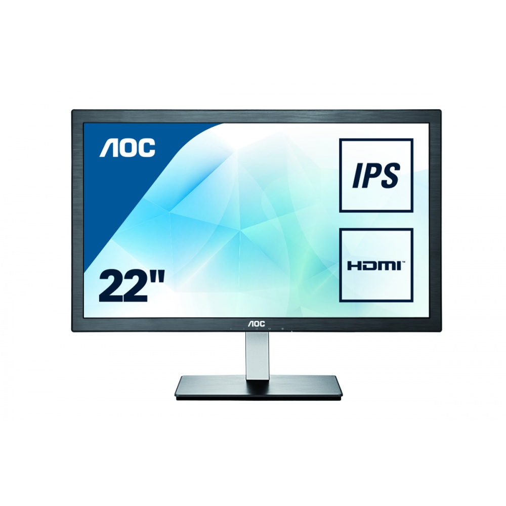 "Монитор AOC I2276VWM 21.5"" LED IPS Чёрный, I2276VWM"