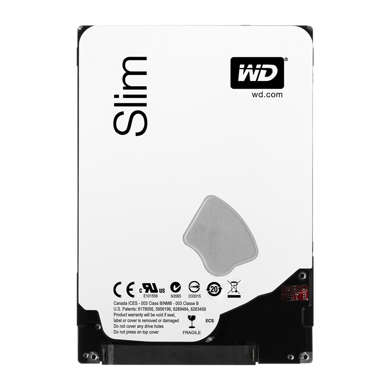 "Диск HDD Western Digital Blue SATA III (6Gb/s) 2.5"" 1TB, WD10SPCX"
