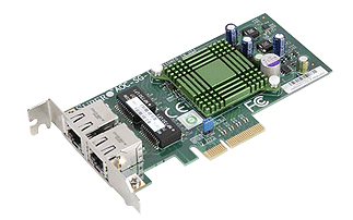 Сетевая карта Supermicro AOC-SG-I2 1 Гб/с RJ-45 2-port, Low profile, AOC-SG-I2