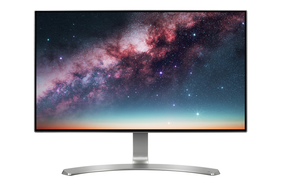 "Монитор LG 24MP88HV-S 23.8"" LED IPS Серебристый, 24MP88HV-S"