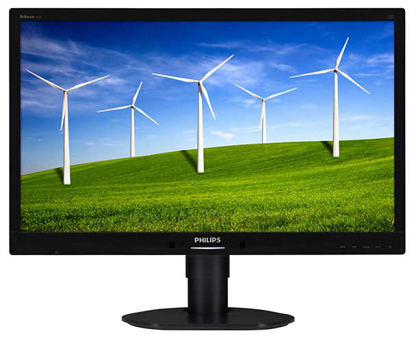 "Монитор Philips 241B4LPYCB 24"" LED TN Чёрный, 241B4LPYCB/00"