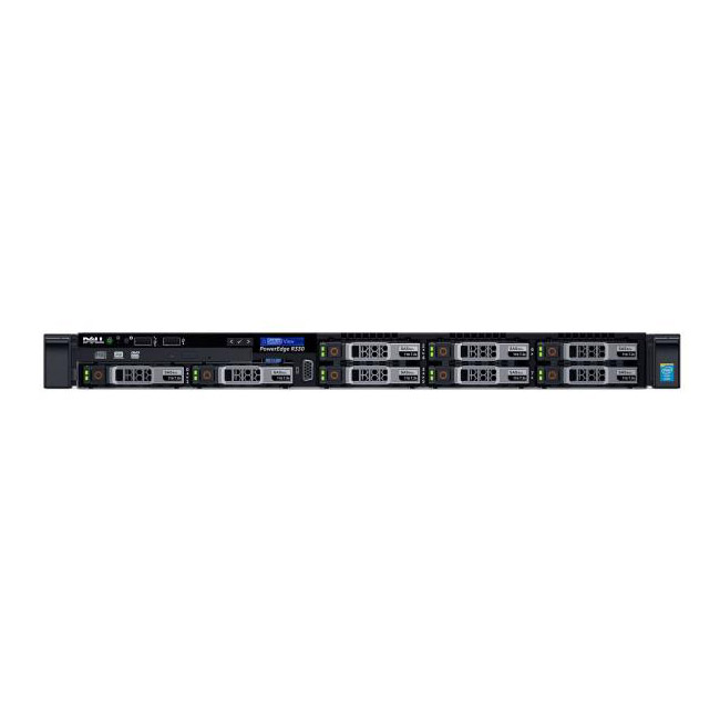 "Сервер Dell PowerEdge R330 2.5"" Rack 1U, R330-AFEV-03T"
