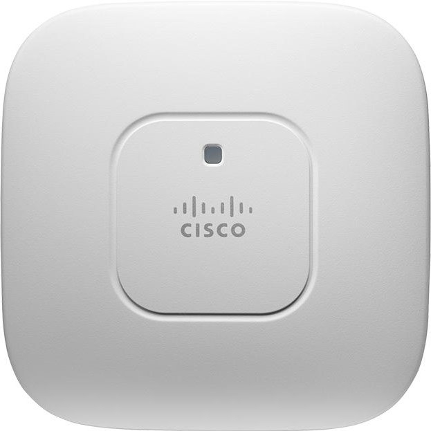 Точка доступа Cisco Aironet 2600 2.4/5 ГГц 450Mb/s, AIR-CAP2602I-R-K9