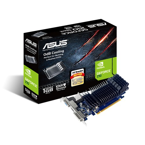 Видеокарта Asus nVidia GeForce 210 DDR3 1GB, 210-SL-1GD3-BRK