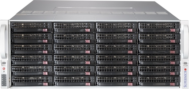 Корпус Supermicro SuperChassis 846BE16-R920B Rack 920Вт Чёрный 4U, CSE-846BE16-R920B