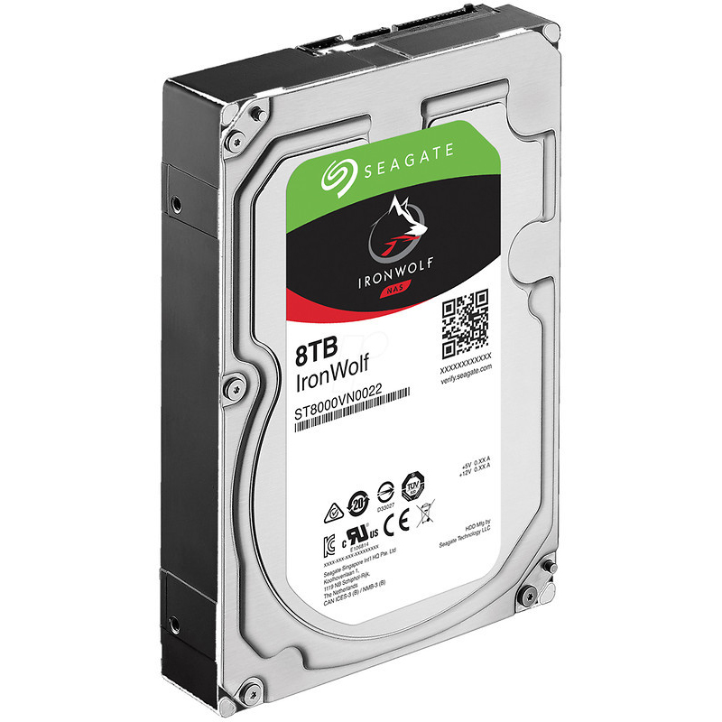 "Диск HDD Seagate IronWolf SATA III (6Gb/s) 3.5"" 8TB, ST8000VN0022"