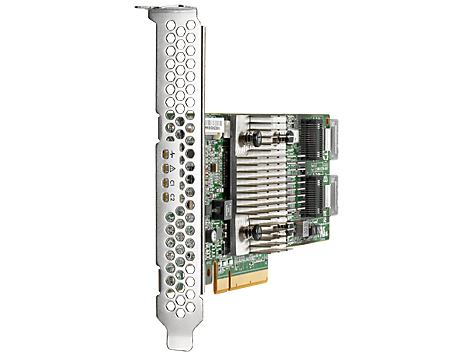 Адаптер главной шины HP Enterprise H240 Smart Host Bus Adapter SAS-3 12 Гб/с LP, 726907-B21