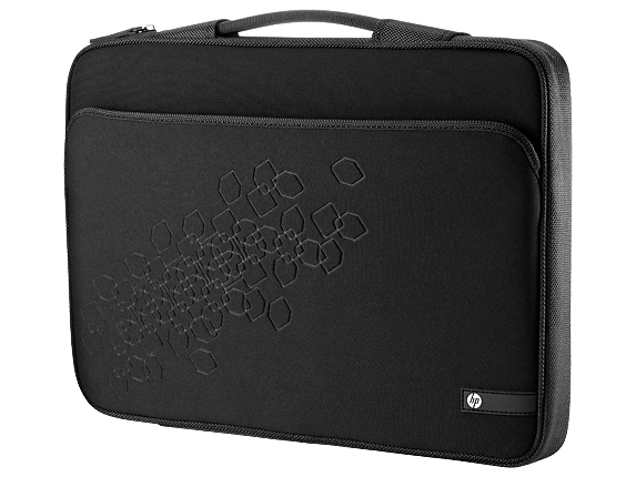 "Чехол HP Black Cherry Notebook Sleeve 16.1"" Чёрный, WU673AA"