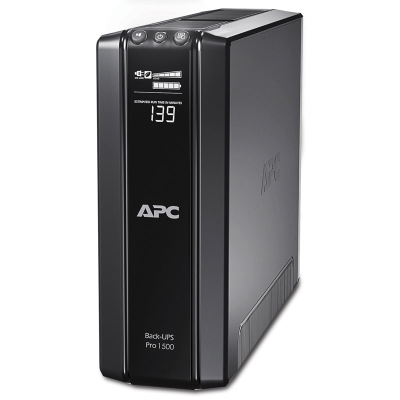 Картинка - 1 ИБП APC by Schneider Electric Back-UPS Pro 1500VA, Tower, BR1500GI