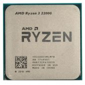 Картинка Процессор AMD Ryzen 3-2200G 3500МГц AM4, Oem, YD2200C5M4MFB