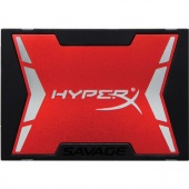 "Картинка Диск SSD Kingston HyperX Savage 2.5"" 480GB SATA III (6Gb/s), SHSS37A/480G"