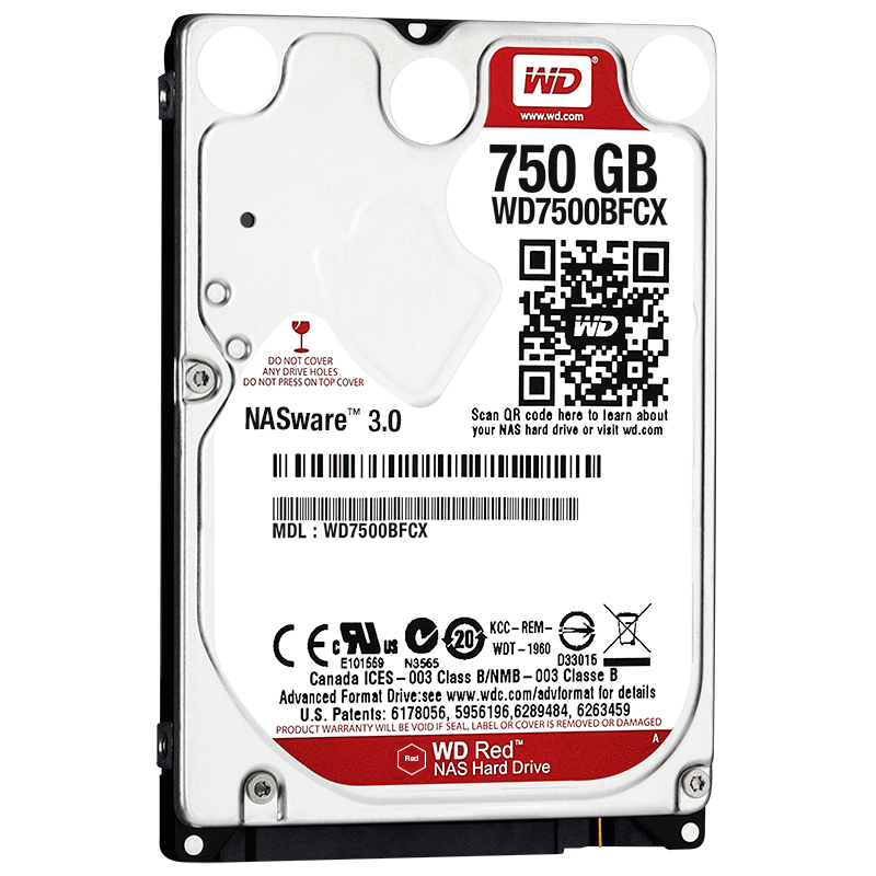 "item-slider-more-photo-Фото Диск HDD Western Digital Red SATA III (6Gb/s) 2.5"" 750GB, WD7500BFCX - фото 1"
