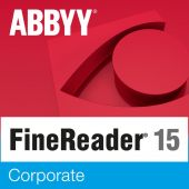 Картинка Подписка ABBYY FineReader 15 Corporate Рус. 1 ESD 12 мес., AF15-3S4W01-102