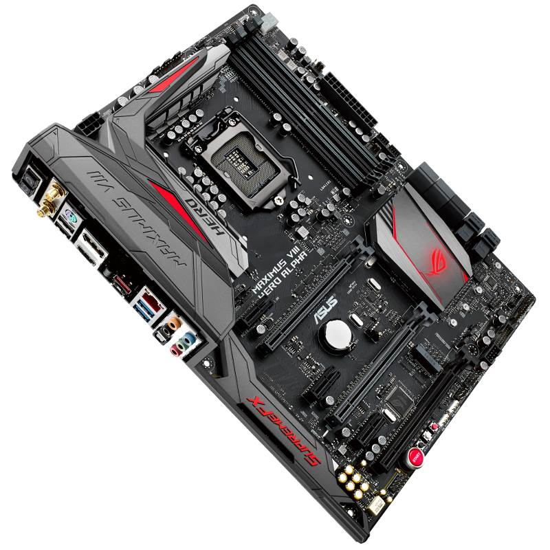 Материнская плата Asus MAXIMUS VIII HERO ALPHA ATX LGA 1151, MAXIMUS VIII HERO ALPHA