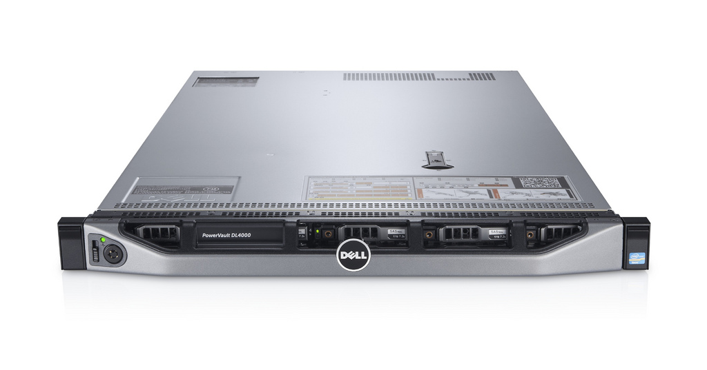 "Сервер Dell PowerVault DL4000 2.5"" Rack 1U, 210-ABGF-1"