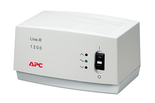 Стабилизатор APC by Schneider Electric Line-R 1200ВА in160-290В out230V, LE1200-RS