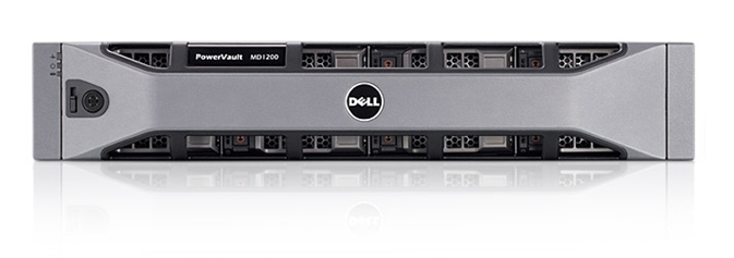 "Дисковая полка Dell PowerVault MD1200 12x3.5"" SAS 6.0, 210-30719/060"