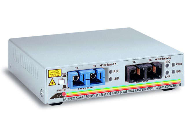Медиаконвертер Allied Telesis 100Base-FX-100Base-FX SC-SC, AT-MC104XL-20