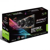 Видеокарта Asus nVidia GeForce GTX 1070Ti ROG Strix GDDR5 8GB, ROG-STRIX-GTX1070TI-8G-GAMING