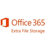 Картинка Подписка Microsoft Office 365 Extra File Storage Single OLP 12 мес., 5A5-00003