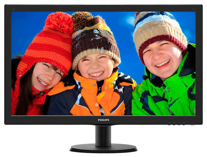 "Монитор Philips 273V5LHAB 27"" LED TN Чёрный, 273V5LHAB/00"