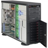 Картинка Корпус Supermicro SuperChassis 743TQ-1200B-SQ Full Tower 1200Вт Чёрный, CSE-743TQ-1200B-SQ