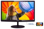 "Монитор Philips 247E6QDAD 23.6"" LED IPS Чёрный, 247E6QDAD/01"