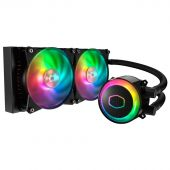 Картинка Радиатор Cooler Master MasterLiquid ML240R RGB 4-pin + 3-pin, MLX-D24M-A20PC-R1