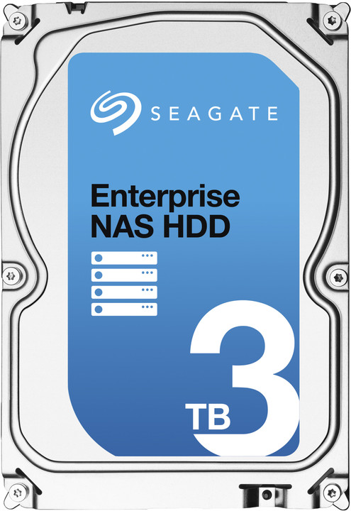 "Диск HDD Seagate Enterprise NAS SATA III (6Gb/s) 3.5"" 3TB, ST3000VN0001"