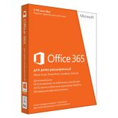 Картинка Подписка Microsoft Office 365 Home Single 32bit/64bit FPP 12 мес., 6GQ-00738