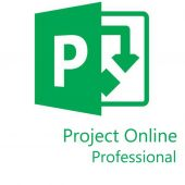 Картинка Подписка Microsoft Project Online Professional Single OLP 12 мес., 7NS-00003