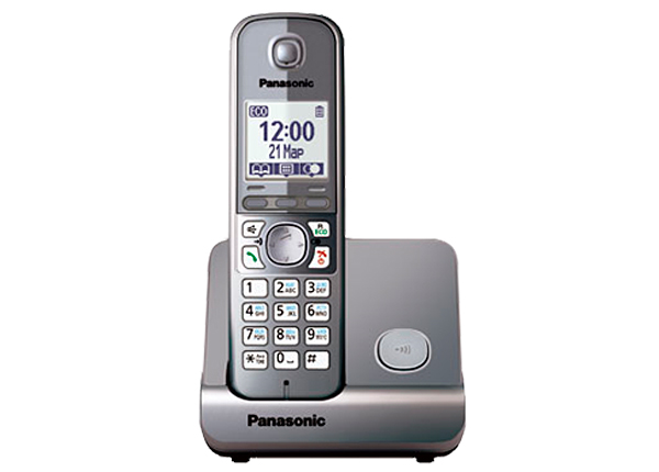 item-slider-more-photo-Фото DECT-телефон Panasonic KX-TG6711RU Серый, KX-TG6711RUM - фото 1