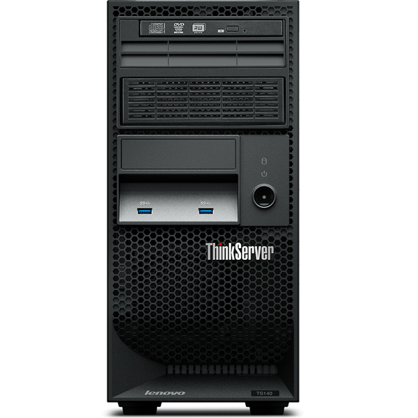 "Картинка - 1 Сервер Lenovo ThinkServer TS140 3.5"" Tower 4U, 70A4003QRU"
