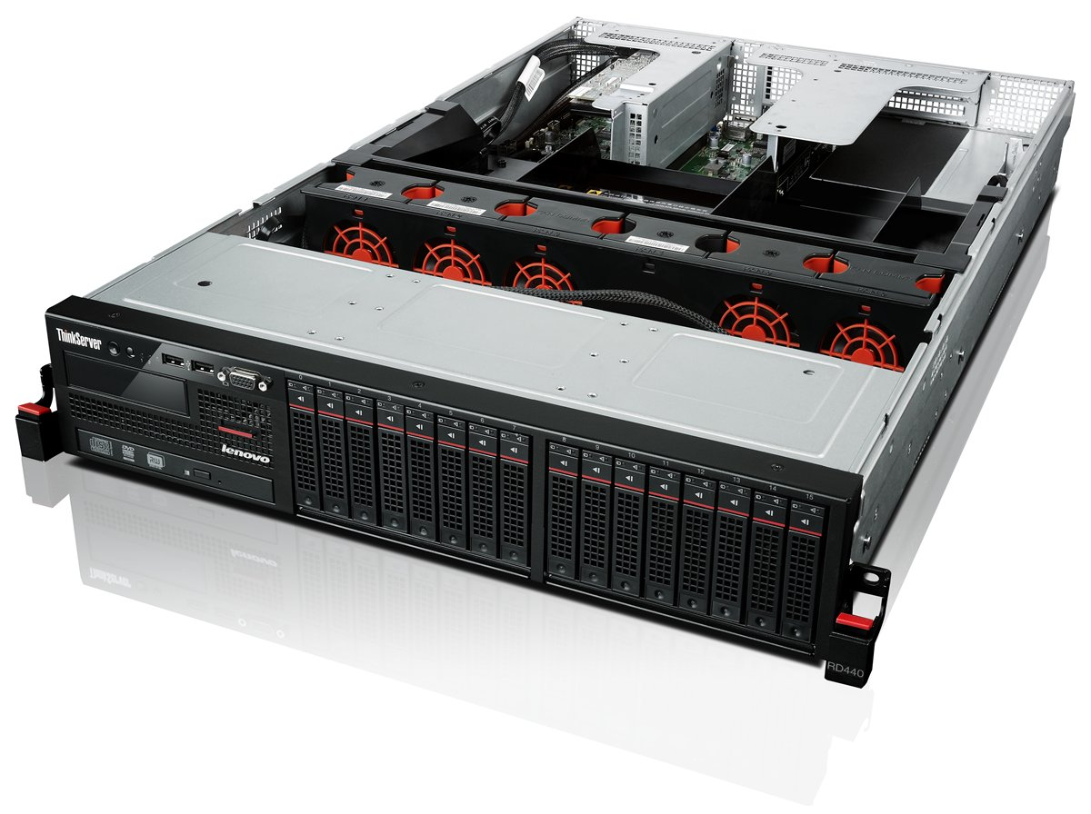 item-slider-more-photo-Фото Сервер Lenovo ThinkServer RD440 Rack 2U, 70B3000LRU - фото 1